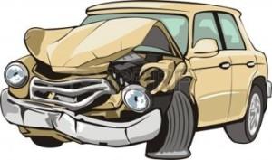 Auto mit schaden